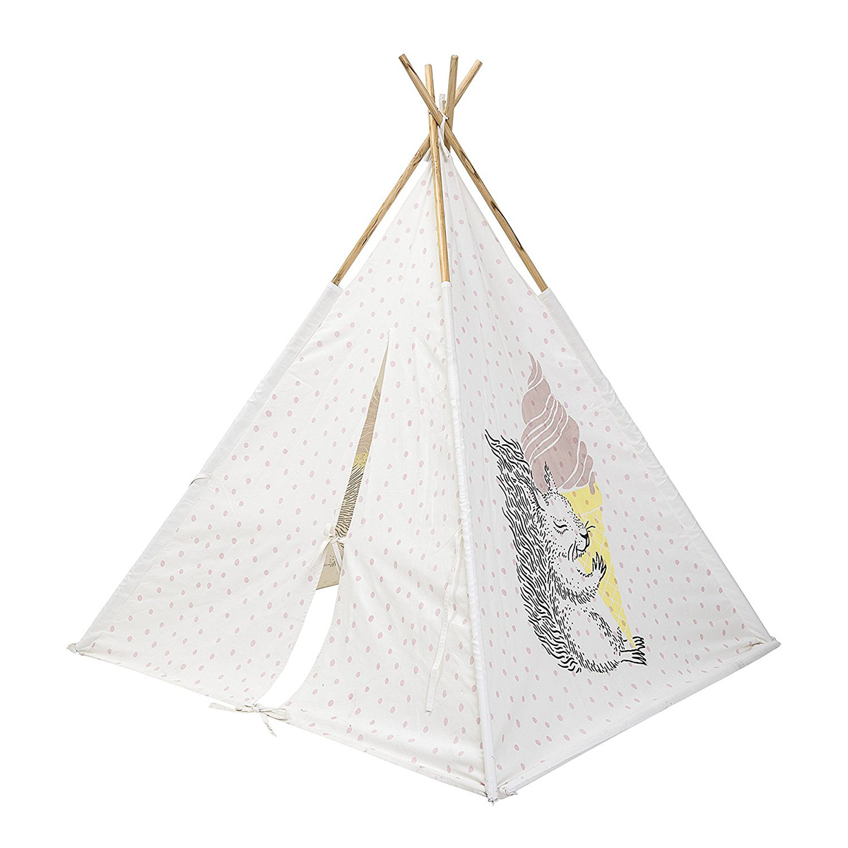 Bloomingville kinder spielzelt indianerzelt kinder tipi rose - Bloomingville kinder ...