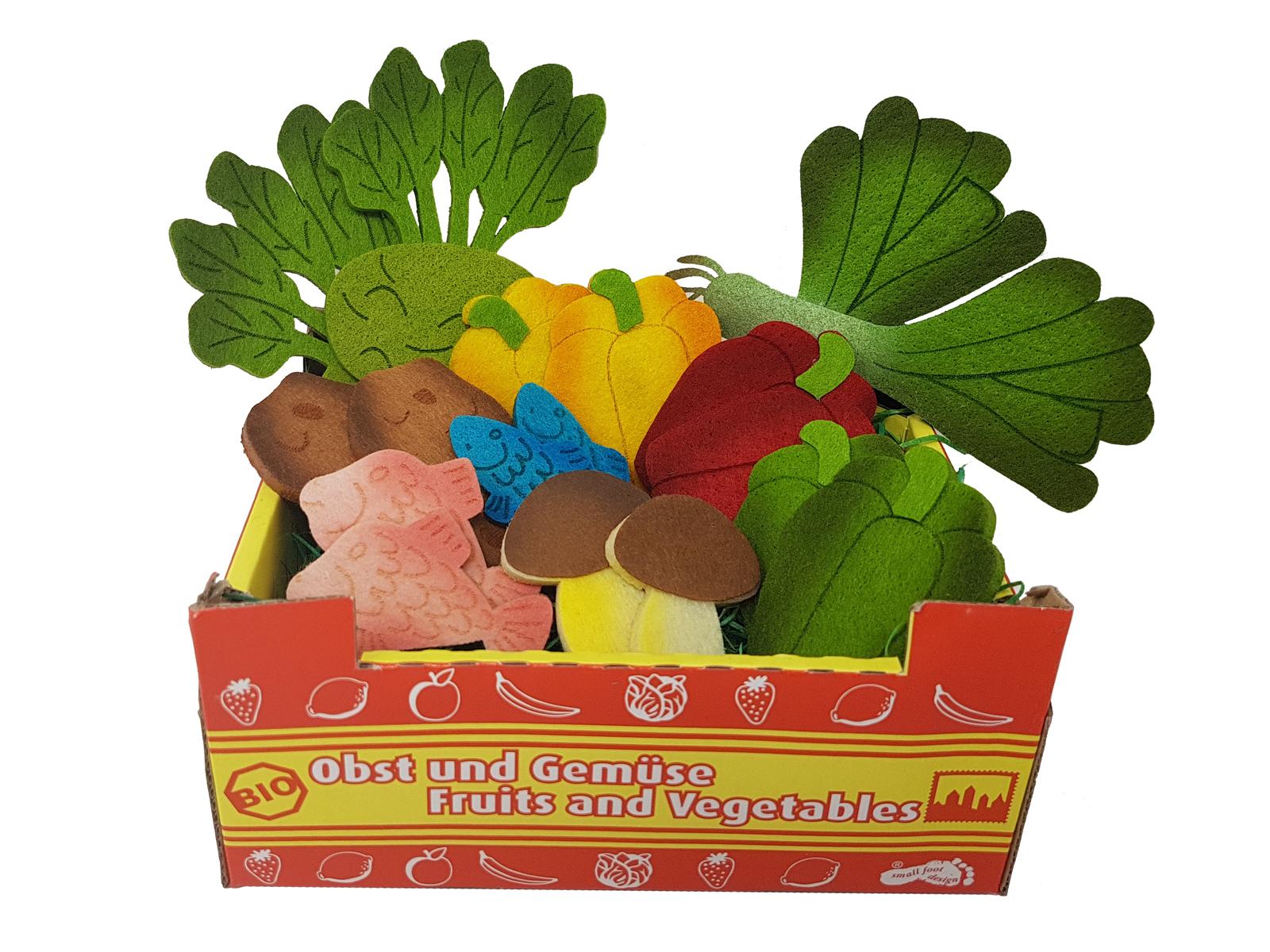 Elfenstall Kaufladen Zubehör Set Filz Lebensmittel Für Spielküche