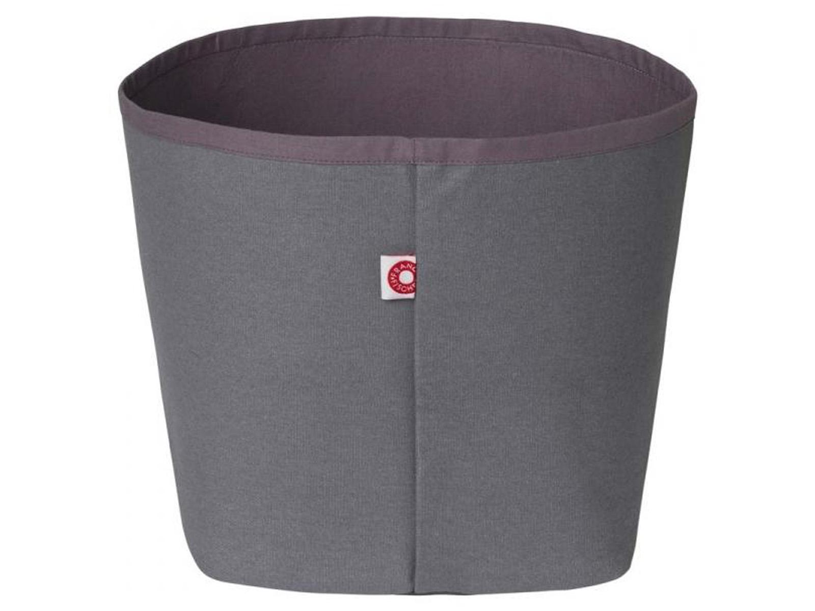 franck fischer aufbewahrungskorb ffchen ida in der farbe dunkelgrau. Black Bedroom Furniture Sets. Home Design Ideas
