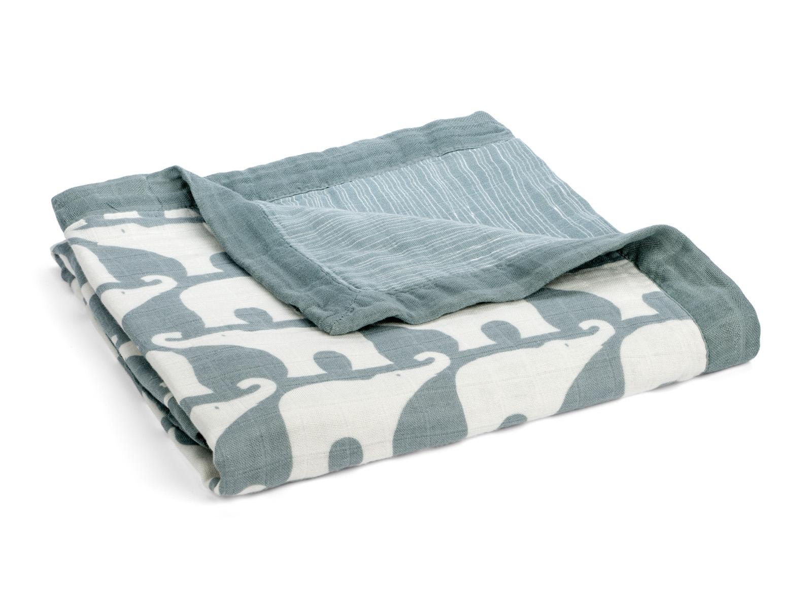 milkbarn big lovey baby kuscheldecke babydecke 90 x 90 cm elefant blau. Black Bedroom Furniture Sets. Home Design Ideas
